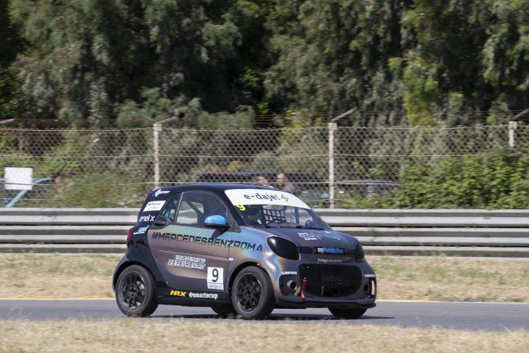 Ghirelli inizia il 2021 sul podio della smart e-cup